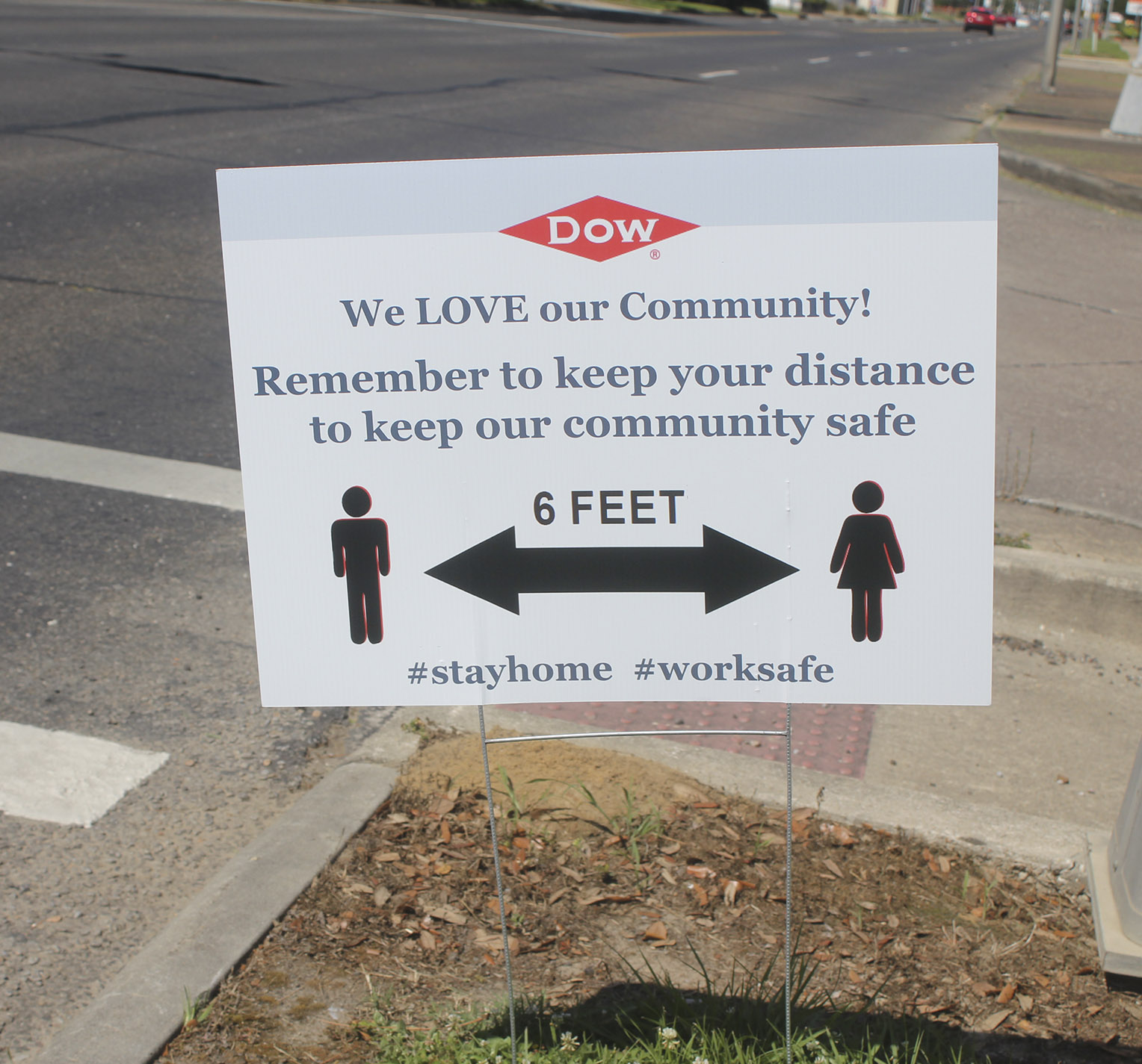 Keeping The Community Safe Inspires Signs