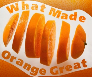 What Made Orange Great